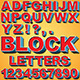 3D Block Letters - GraphicRiver Item for Sale