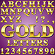 Gold Letters - GraphicRiver Item for Sale