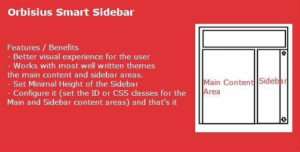 CodeCanyon Orbisius Smart Sidebar 6506107