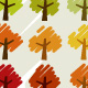 Scribble Trees - GraphicRiver Item for Sale