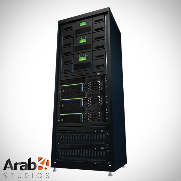 3DOcean Server Rack IBM 1 6516901