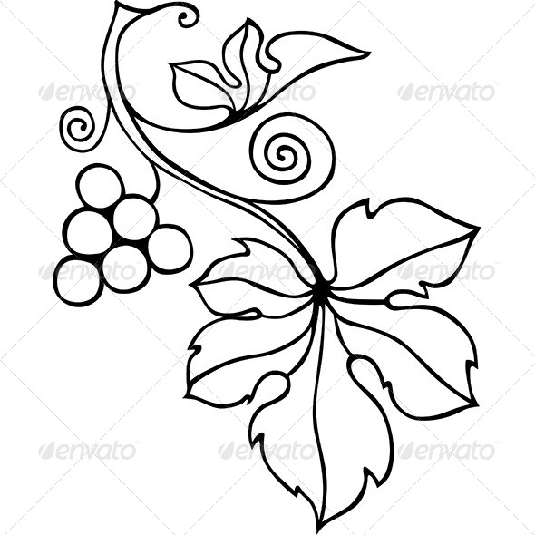 GraphicRiver Decorative Vine Element 6516937