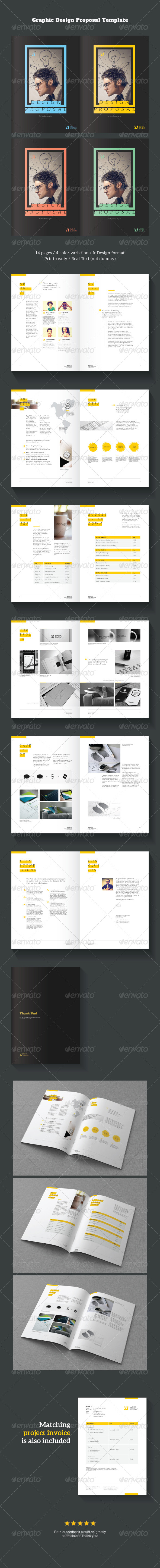 GraphicRiver Graphic Design Project Proposal Template 6500541