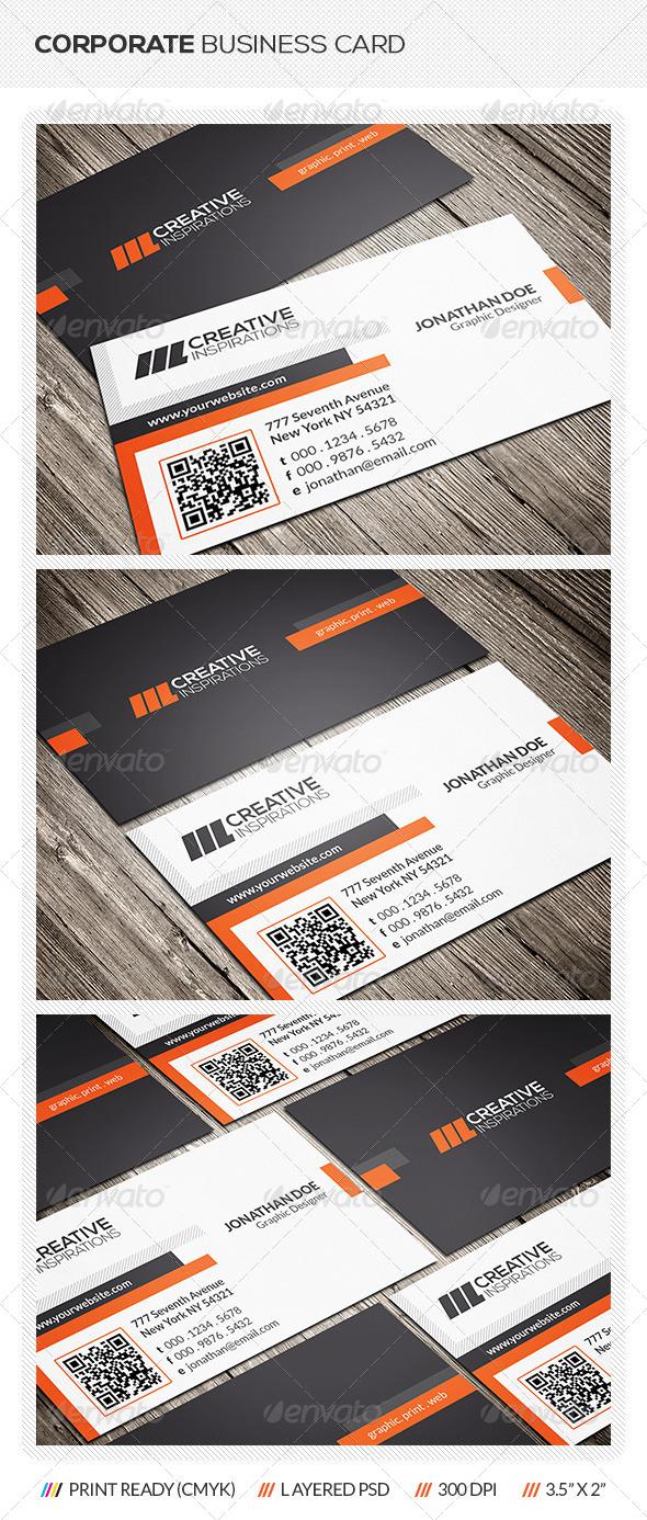 GraphicRiver Creative Corporate Business Card 6517642
