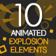Animated Explosion Elements - VideoHive Item for Sale