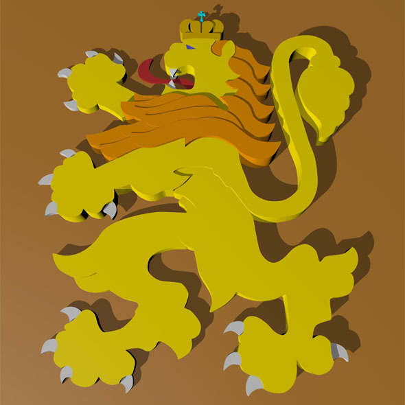 3DOcean Lion 6518010