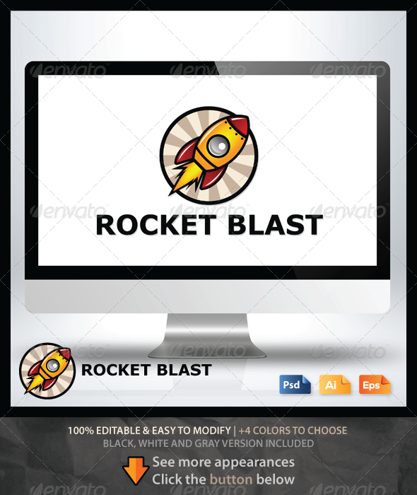GraphicRiver Rocket Blast 6518076