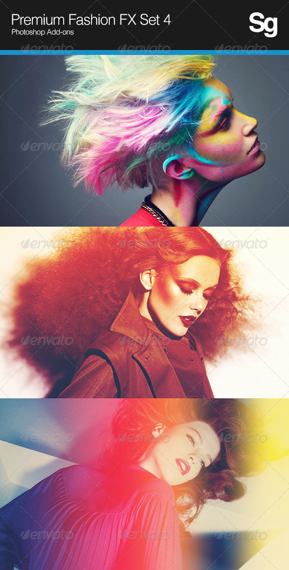 Premium Fashion FX Set 4 - Photo Effects Actions