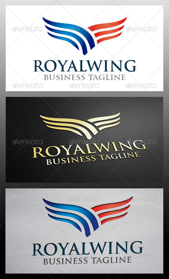 GraphicRiver Wings Logo 6518164