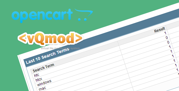 CodeCanyon Save Search Items In Opencart 6518185