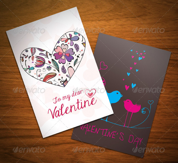 GraphicRiver Valentine s Day Cards 6495635