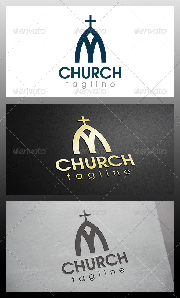 GraphicRiver Church Logo 6518553