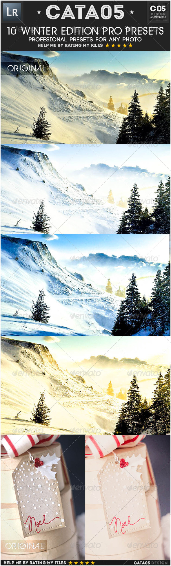 GraphicRiver 10 Winter Edition Pro Presets 6518768