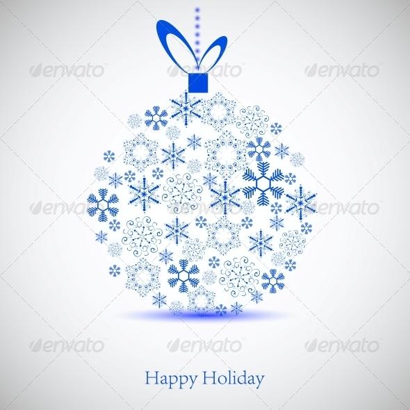 GraphicRiver Christmas Ball 6518783