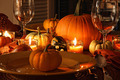 Festive autumn place settings with pumpkins - PhotoDune Item for Sale