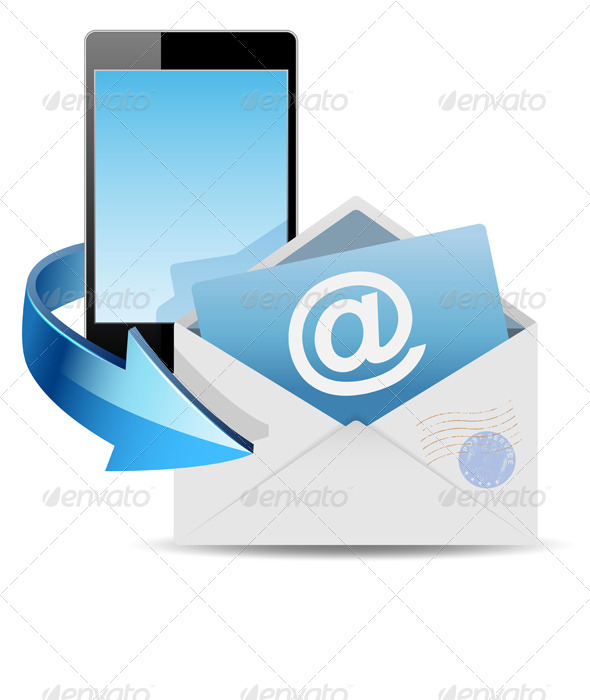 GraphicRiver Envelope Email and Phone 6519095