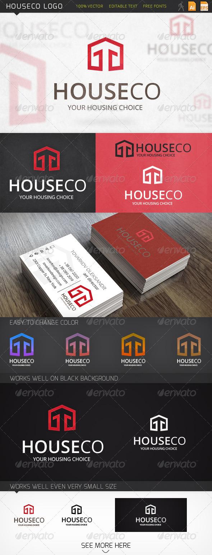 GraphicRiver Houseco Logo 6519219