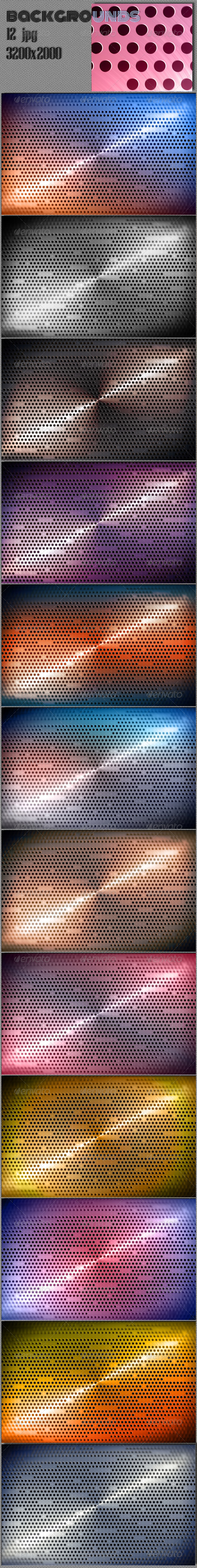 GraphicRiver Techno 3D Web Backgrounds 6519247