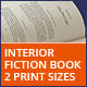 Interior Fiction Book - GraphicRiver Item for Sale