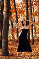 hot young woman in autumn park - PhotoDune Item for Sale