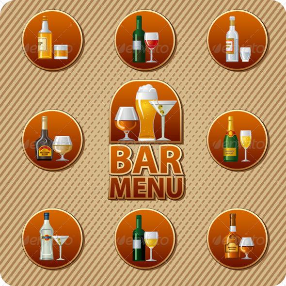 GraphicRiver Bar Menu Cover 6521050