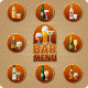 Download Vector Bar Menu Cover