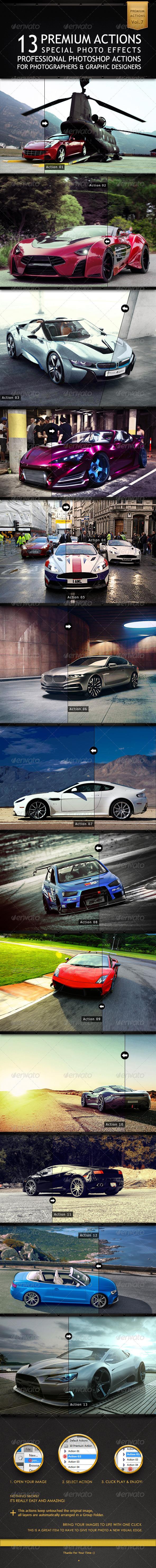 GraphicRiver 13 Premium Actions 6520864
