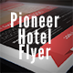 Pioneer Hotel Flyer - GraphicRiver Item for Sale