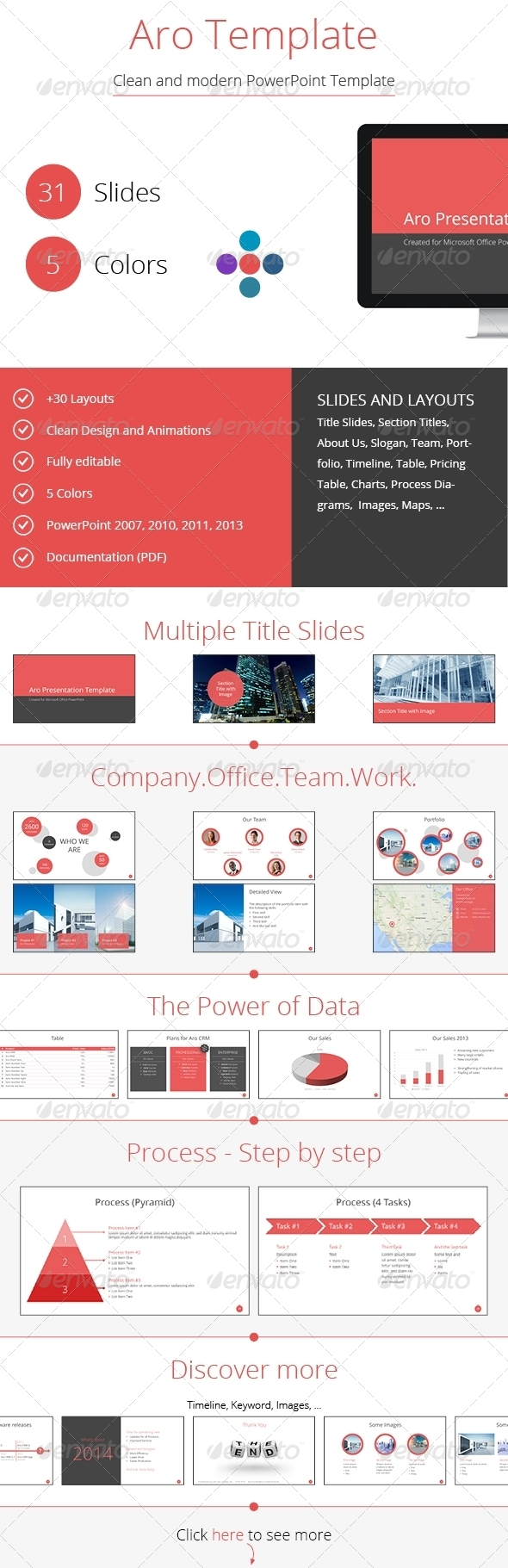 GraphicRiver Aro PowerPoint Template 6521736