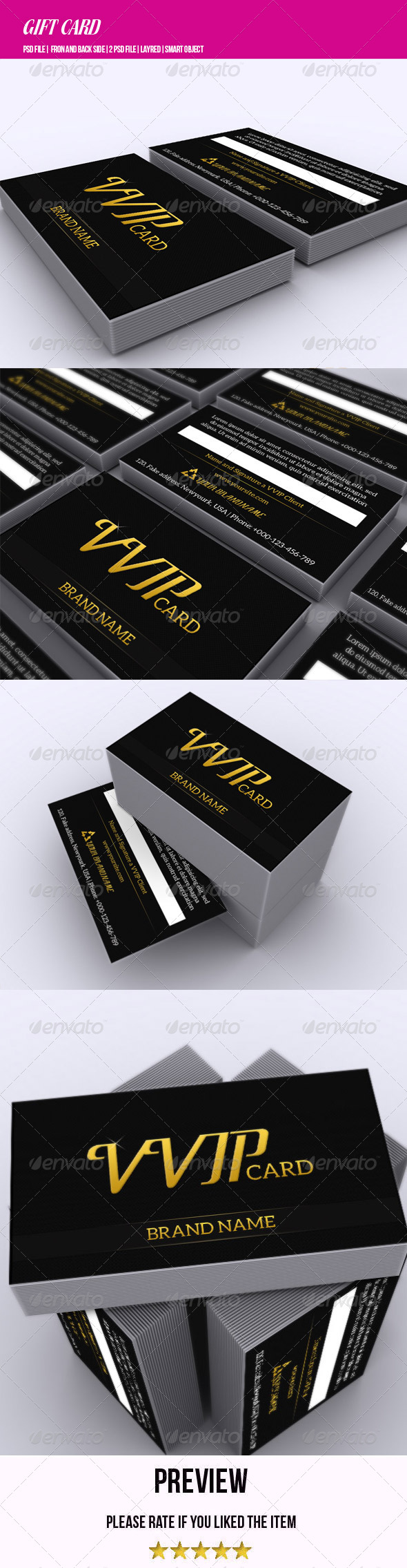 GraphicRiver VVIP Card 6521746