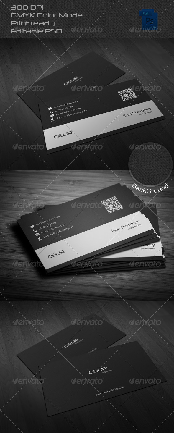 GraphicRiver Corporate Business Card 6522254