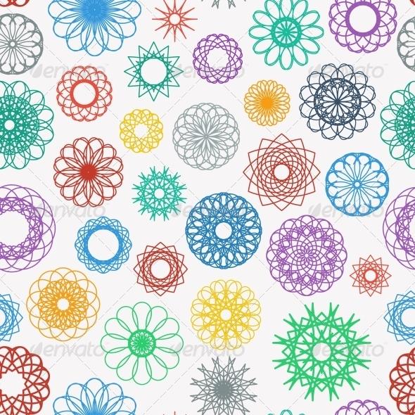 GraphicRiver Round Ornament Pattern 6522304