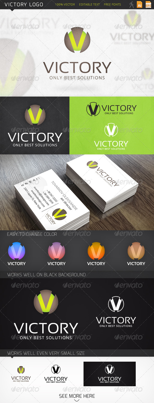 GraphicRiver Victory Logo 6522795