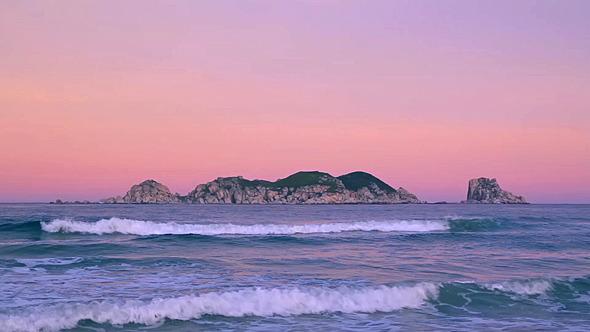 Evening Islands