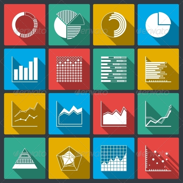 GraphicRiver Business Icons of Ratings Graphs and Charts 6523176