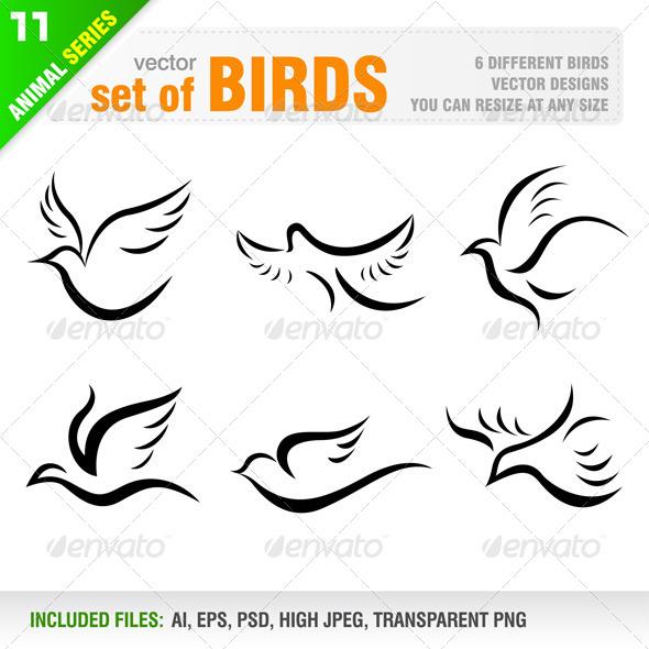 GraphicRiver Birds 6523283