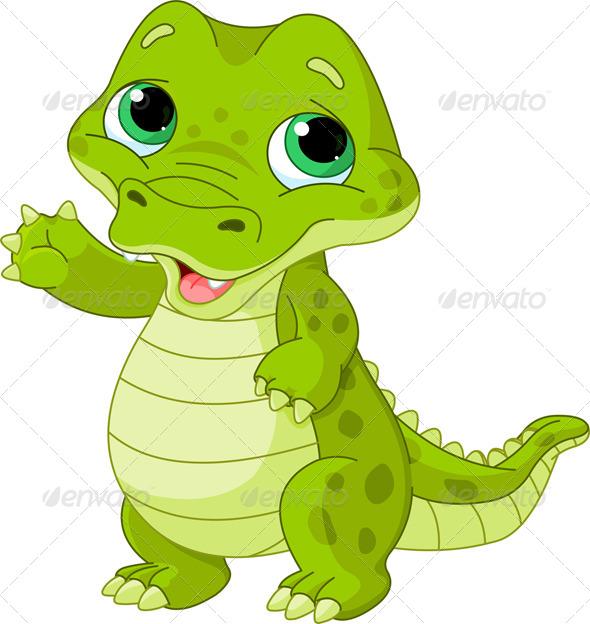 GraphicRiver Baby Alligator 6523286