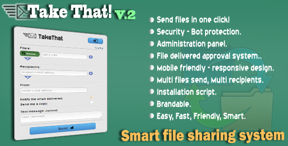 TakeThat! file sharing system V.2.1 - CodeCanyon Item for Sale