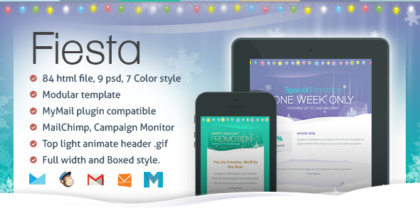 ThemeForest Fiesta Responsive Email Template 6524213