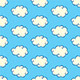 Clouds Seamless Pattern - GraphicRiver Item for Sale