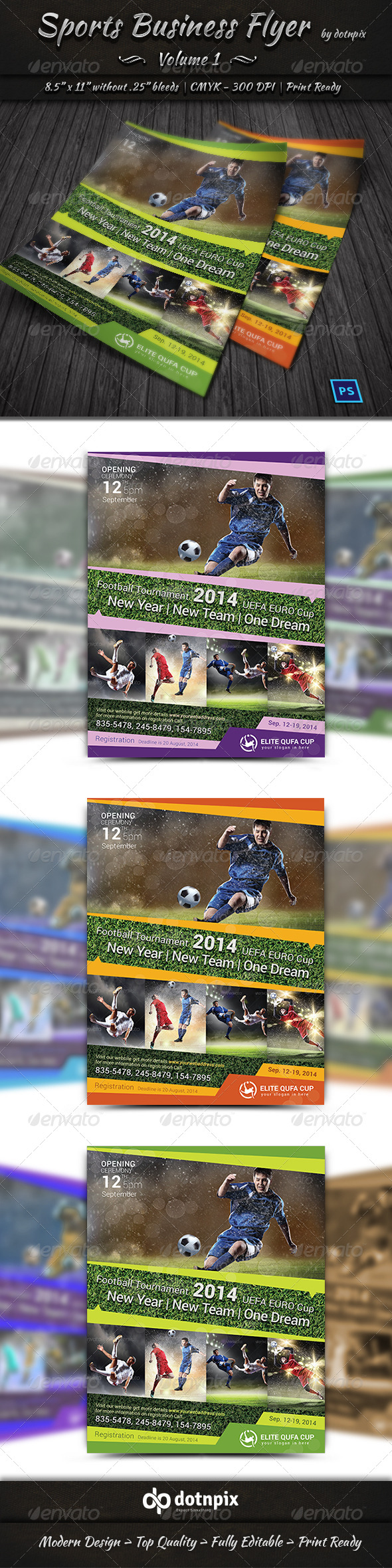 Sports Business Flyer | Volume 1 - Sports Events