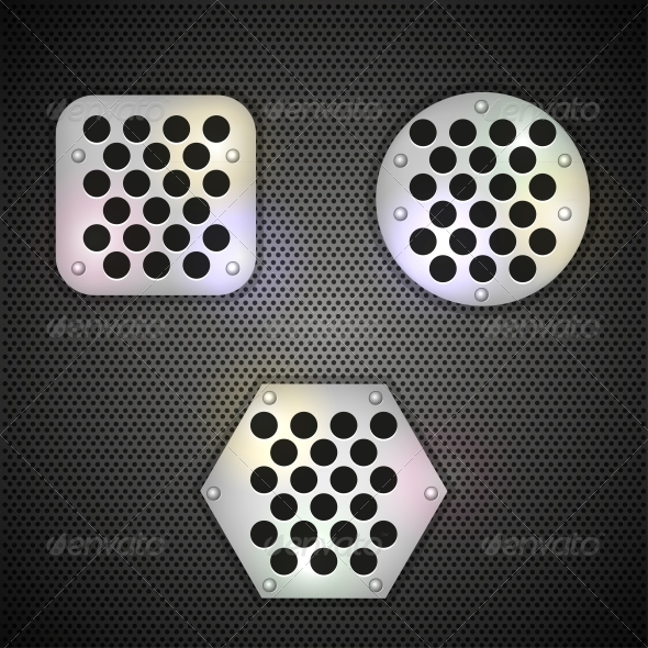 GraphicRiver Metal Grid Background 6524554
