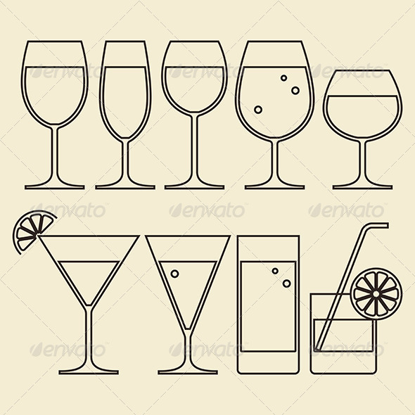 GraphicRiver Illustration of Alcohol 6524752
