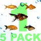 5 Pack Fishes - VideoHive Item for Sale