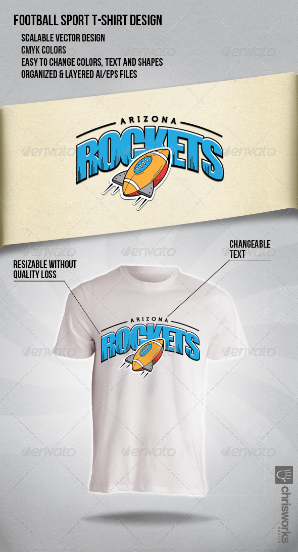 GraphicRiver Arizona Rockets 6524870