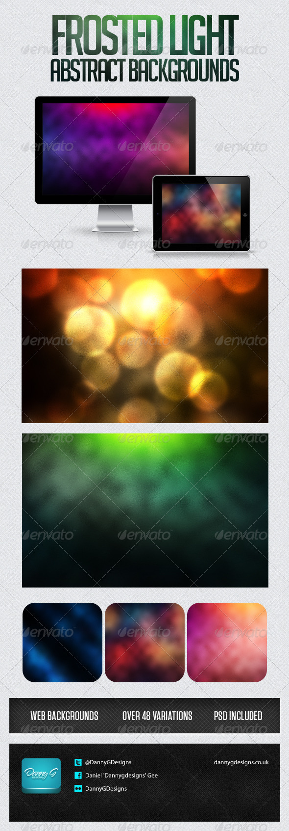 GraphicRiver Frosted Light Abstract Background 6525445