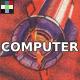 Sci-Fi Computer Key