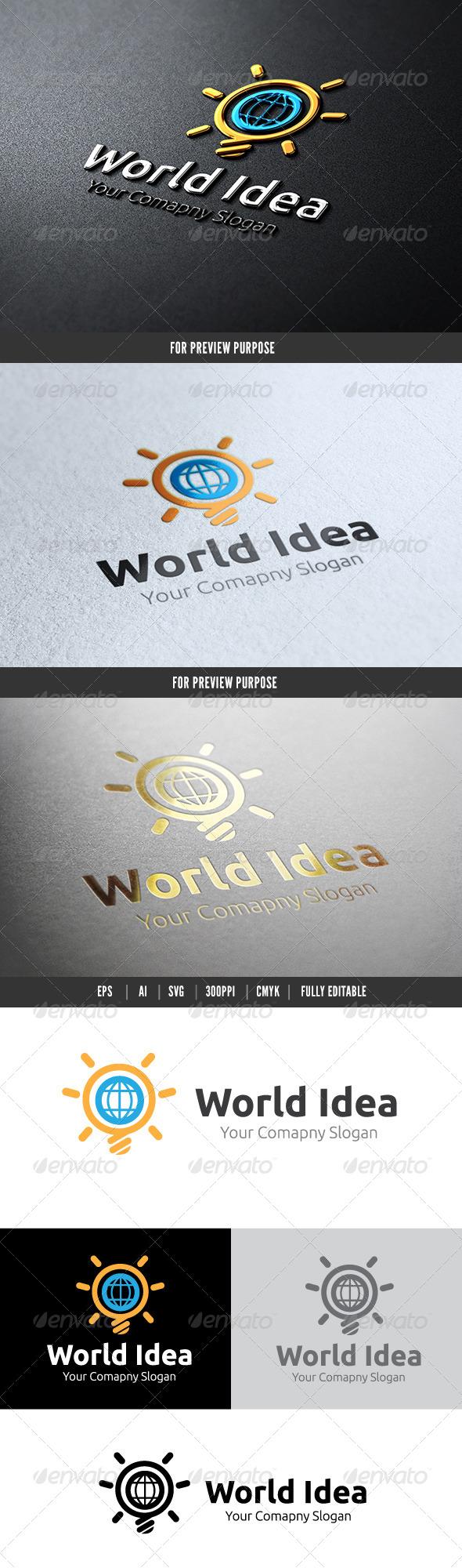 GraphicRiver World Idea 6525642