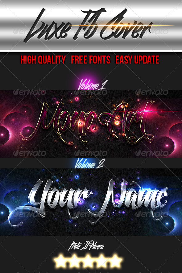 GraphicRiver Luxe Timeline Covers 6526069