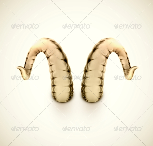 GraphicRiver Isolated Horns 6526088